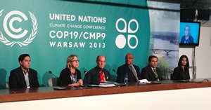 COP19 Press Conference