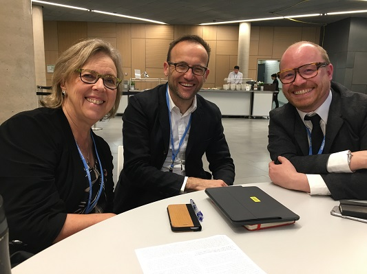 E meeting w Australian Green Adam Bandt and elected Dane Rasmus Nordquvist
