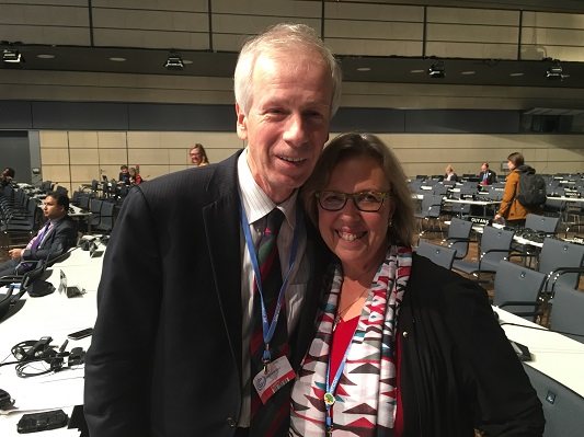 Stephane Dion with E at cop