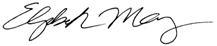 Elizabeth May, O.C., M.P.